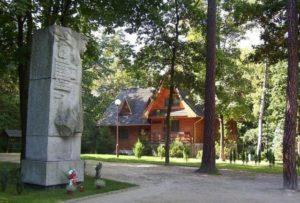 Dom Leśnika. Fot. www.spala.pl