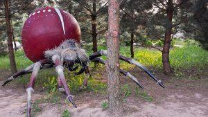 Gigantyczny pająk. Fot. Park Edukacyjno-Rozrywkowy Mikrokosmos